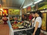 L'exposition sur les villages de métiers du Vietnam 2017