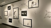 L'artiste Florian Nguyên expose ses jeux de mémoires à Hanoï