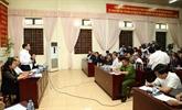 Le président du Comité populaire de Hanoï dialogue avec les habitants de Dông Tâm