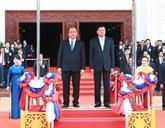 La visite de Nguyên Xuân Phuc portera les relations Laos - Vietnam à une nouvelle hauteur