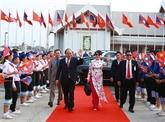 Le Premier ministre Nguyên Xuân Phuc termine sa visite officielle au Laos