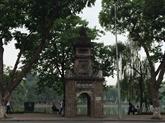 Les ruines de l'ancienne tour Hoà Phong à Hanoï