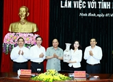 Le Premier ministre appelle à faire de Ninh Binh un pôle touristique mondial