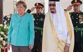 Angela Merkel en tournée dans le Golfe