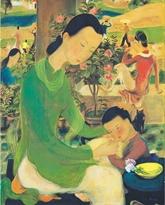 Une peinture vietnamienne part à 1,2 million de dollars