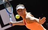 Tennis : Sharapova réussit son entrée en lice à Rome, Pouille déjà éliminé
