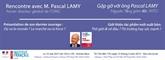 Rencontre avec Pascal Lamy : «Où va le monde ? Le marché ou la force ?»