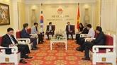 Consolider les relations entre le Vietnam et la République de Corée