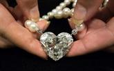 Vente à Genève du plus gros diamant taille cœur jamais mis aux enchères