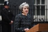 Theresa May a discuté du Brexit avec Macron, selon Downing Street