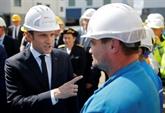 À Saint-Nazaire, Macron conjugue ambition industrielle et loi Travail