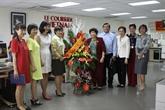 Visite des parlementaires vietnamiens francophones au Courrier du Vietnam