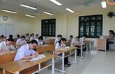 Tout est prêt pour l'examen national de fin d'études secondaires