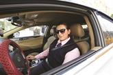 En Jordanie, conduire un taxi n'est pas qu'une affaire d'hommes