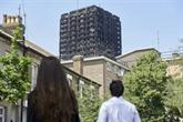 Londres : une odeur de mort flotte toujours sur le quartier de la tour calcinée