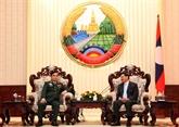 Le PM lao apprécie les acquis des comités vietnamien et lao