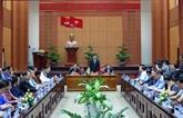 Quang Nam renforce la coopération avec des localités lao