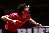 Tennis de table : Tristan Flore, dernier Français en lice aux Mondiaux, s'arrête en 16e