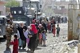 Irak : rescapés in extremis de Mossoul, des déplacés irakiens disent