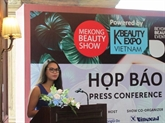 Cosmétiques : 600 marques internationales à l'exposition Mekong Beauty Show 2017