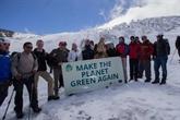 Réchauffement climatique : l'UE sonne l'alerte depuis un glacier andin