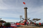 Une tour du drapeau national inaugurée au district insulaire de Côn Co à Quang Tri