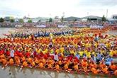 La fête de Ok Om Bok et la course de pirogues de Soc Trang