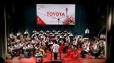 Le concert de Toyota à Vinh Phuc