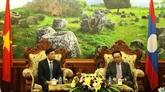 Resserrer l'amitié et la coopération décentralisées Vietnam - Laos