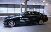 Stationnement sans conducteur, projet pilote de Bosch et Mercedes