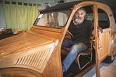 Une 2CV en bois : le pari fou et réussi d'un retraité français
