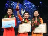 Concours : recherche de jeunes talents pour le cải lương