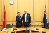 Le vice-Premier ministre Vuong Dinh Huê en visite officielle en Nouvelle-Zélande