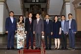 Hô Chi Minh-Ville reçoit une délégation de l'association NEAR