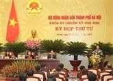 Le Conseil populaire de Hanoï débat de plusieurs questions socio-économiques importantes