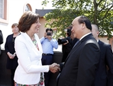 Allemagne : Nguyên Xuân Phuc rencontre des dirigeants du Land de Rhénanie-Palatinat