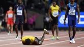 Usain Bolt foudroyé dans sa dernière ligne droite