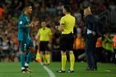 Real : Ronaldo suspendu 5 matches pour avoir bousculé un arbitre