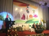 Le 70e anniversaire de la Journée de l'indépendance de l'Inde célébré à Hanoï