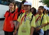 Les enfants vietnamiens et lao sont les héritiers des liens d'amitié entre les deux pays