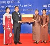 Le Vietnam et le Cambodge s'engagent à construire une frontière de paix