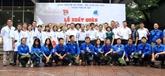 Les jeunes Hanoiens cultivent l'amitié et la solidarité spéciale Vietnam - Laos