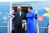 Le Premier ministre Nguyên Xuân Phuc termine sa visite officielle en Thaïlande