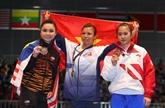 Le Vietnam a remporté six médailles d'or aux SEA Games 29