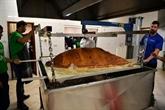 Record Guinness du plus grand samossa : 153 kg