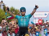 Tour d'Espagne : Lutsenko en solo, Froome distance Bardet