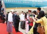 Le chef du PCV au Myanmar pour bâtir un cadre des liens