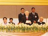 Déclaration commune Vietnam - Myanmar