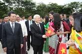 Nguyên Phu Trong termine sa visite en Indonésie et au Myanmar