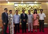 Promotion de l'amitié Vietnam - Salvador à travers la diplomatie populaire